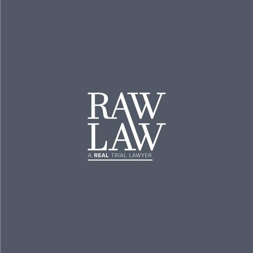 RAW LAW Logo