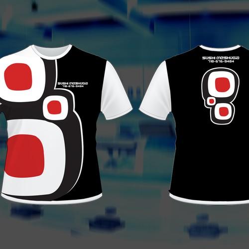 Eye catching Jap Restaurant t-shirt