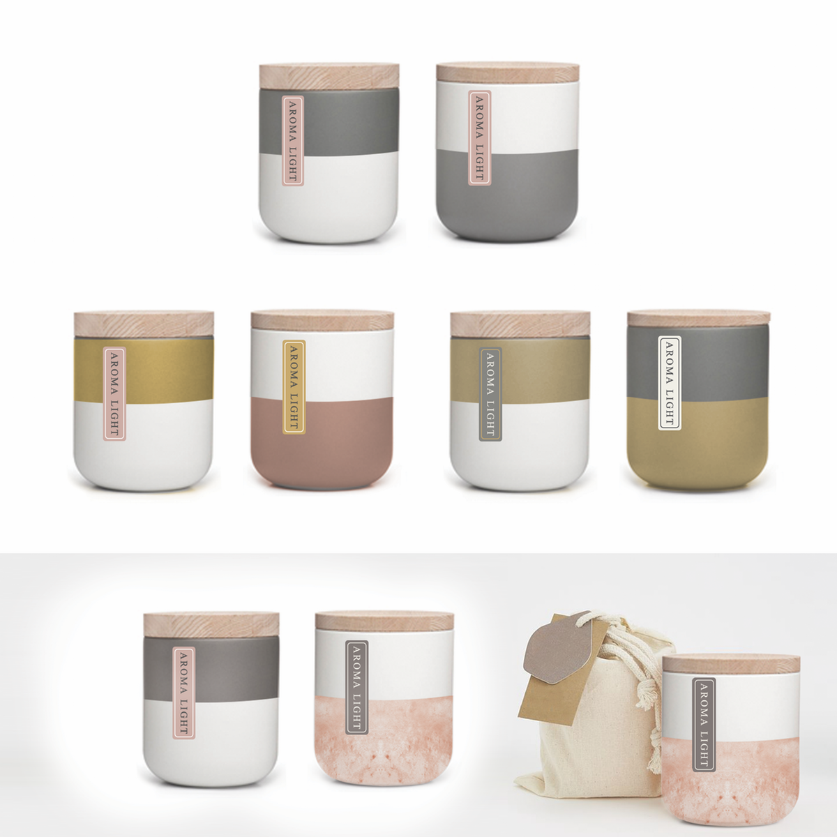 Product design for scented candles