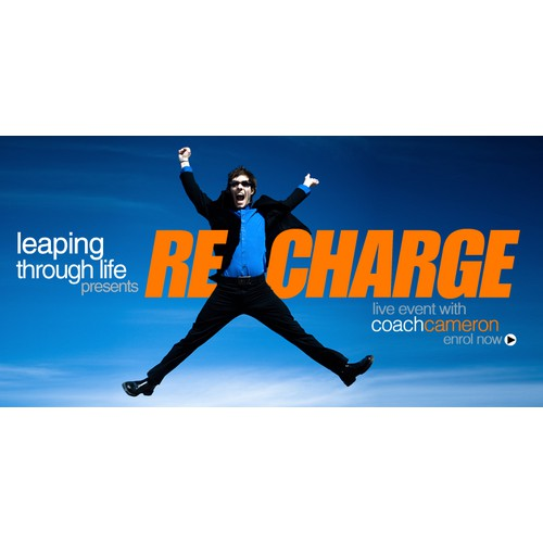 New banner ad for Leaping Through Life