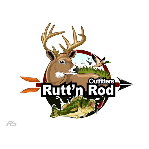 Logo design for Wisconsin Hunt/Fish/Firearms outfitter retail store