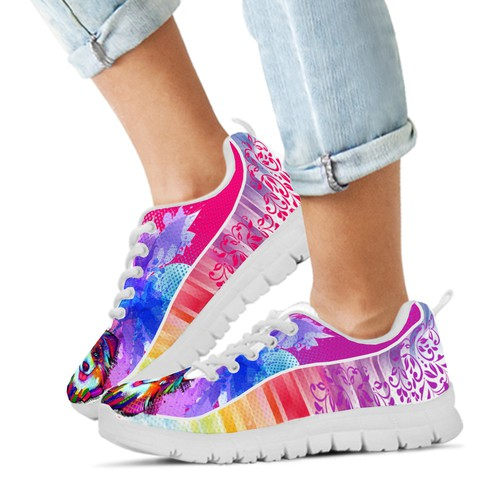 design the art for a running shoe!