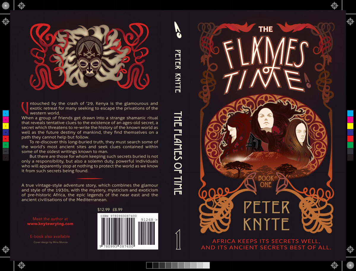 Additional artwork for an existing book cover.