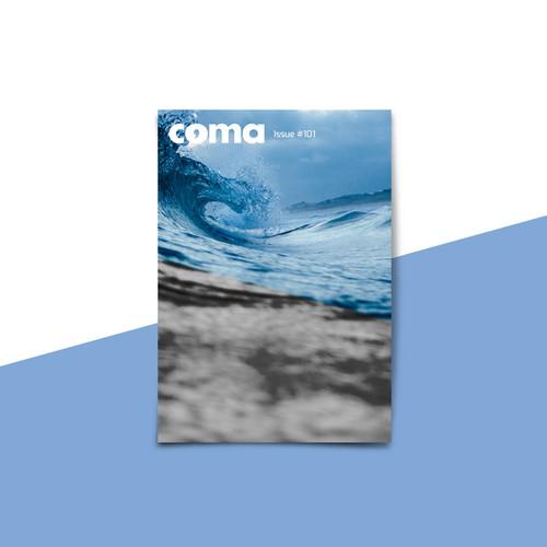 Creative bold logo-type for Coma