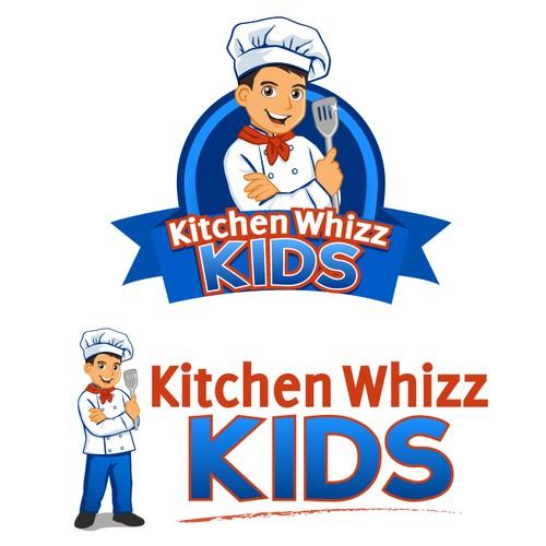 Create the next logo for Kitchen Whizz Kids