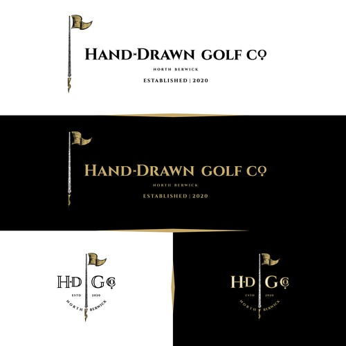 Hand-Drawn Golf Co.