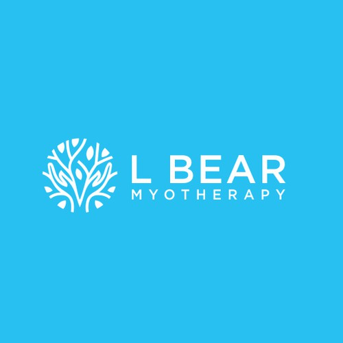 L Bear Myotherapy Logo Concepts