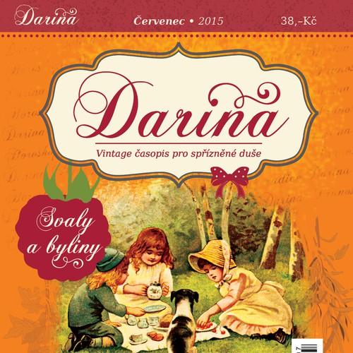 Darina magazine design