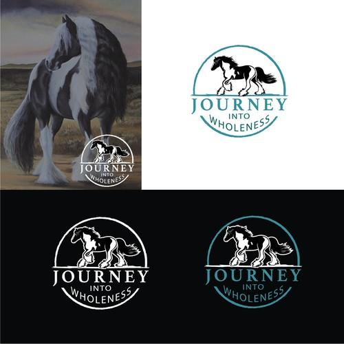 Gypsy Vanner Horse logo