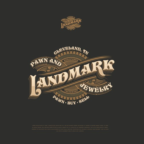 LandMark Pawn Shop - Logo