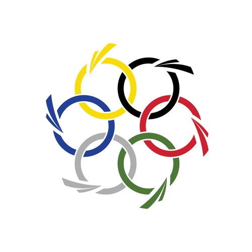 More dynamic design for future  Olympic Transportation Network flag