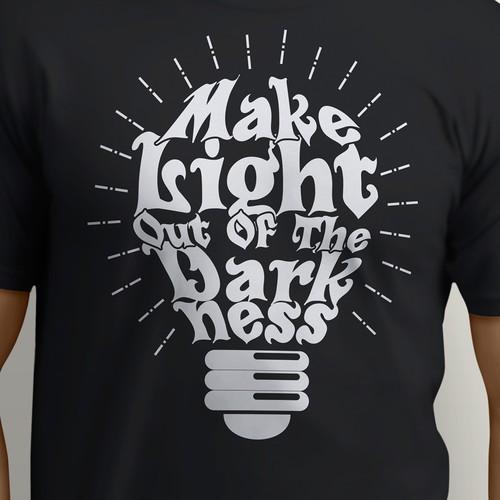 Typography design for Tshirt