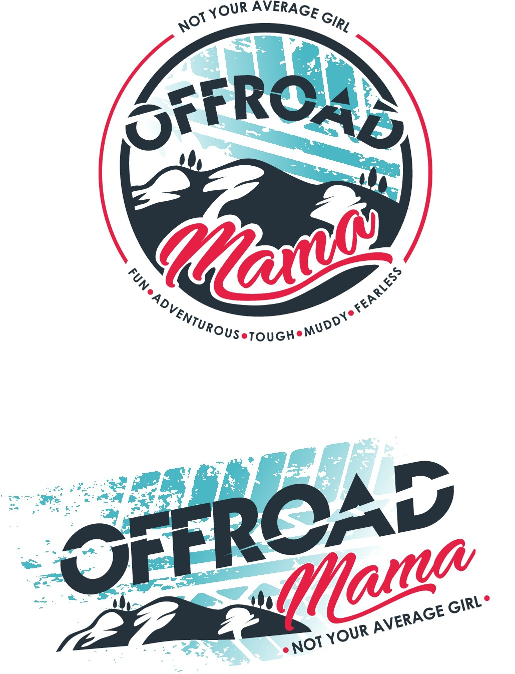 FUN Logo for an Adventurous Offroad Mama