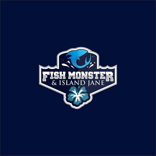 Fish Monster & Island Jane