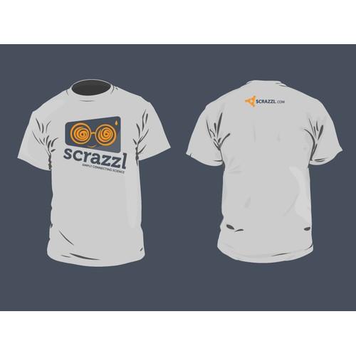 t-shirt design for scrazzl.com