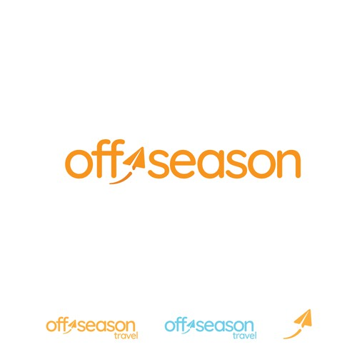 Fun logo for travel site