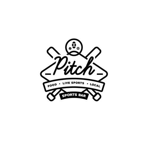 Logo for Pitch Sports Bar