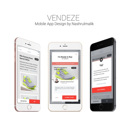E-commence App for Vendeze