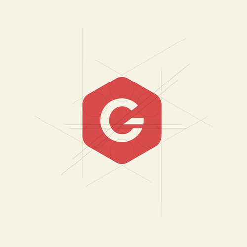 Geometric logo for retail company