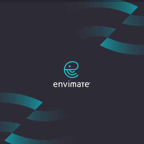 Envimate logo design