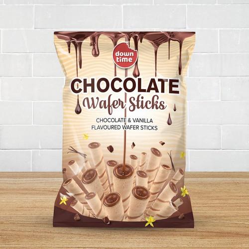 Chocolate Wafer Sticks Packet