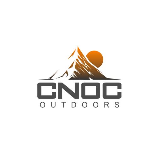 Logo concept for CNOC outdoors