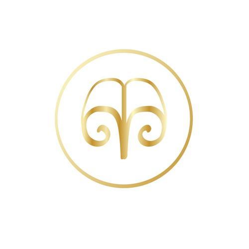 Logo concept for blog Bibliovca