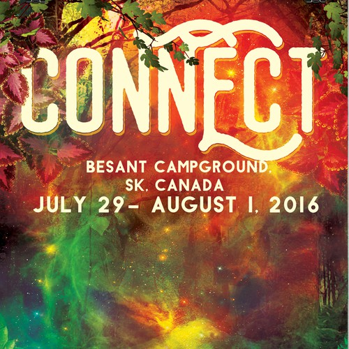 Connect Festival Poster