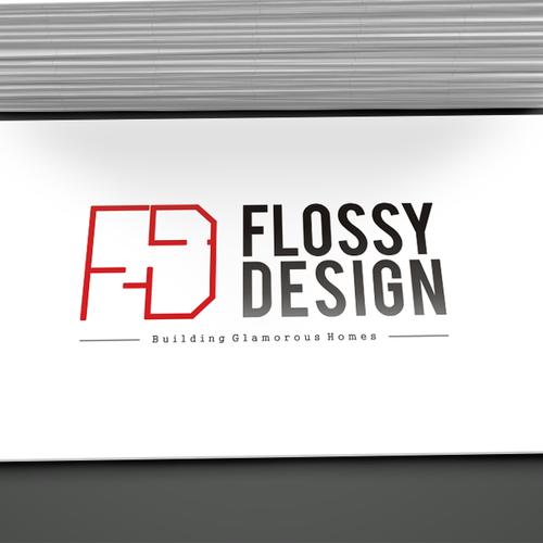 Create a glam logo to represent our interior design group