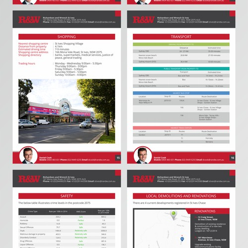 REAL ESTATE REPORT TEMPLATE