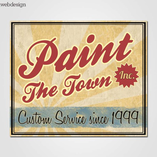 New Logo Design wanted for Paint the Town, Inc.