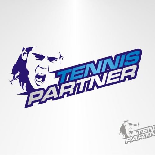 KILLER LOGO for Biggest & Coolest Tennis SocialNetwork