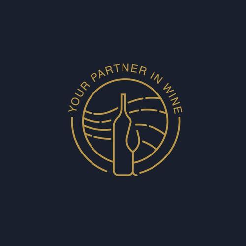 Logo concept for wine taster company