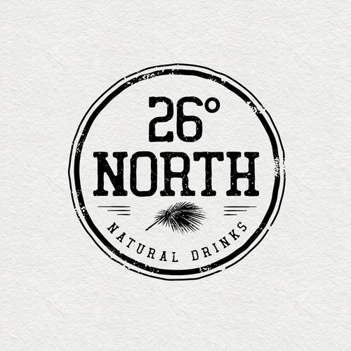 Logo design for natural drinks