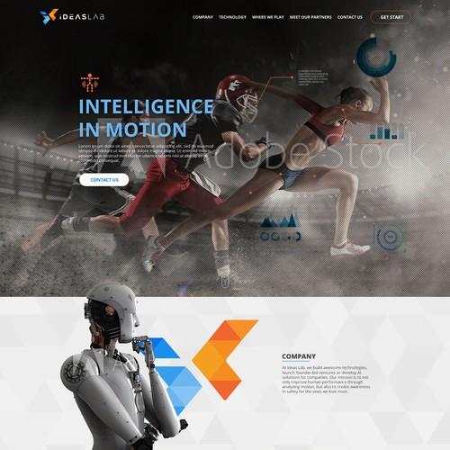 AI company web-site