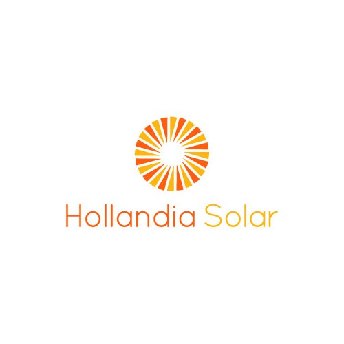 Logo for solar power energy company