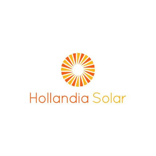 Logo for solar power energy company