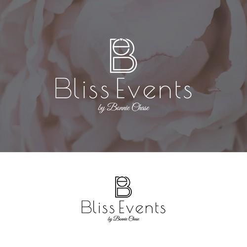 Classy wedding event logo