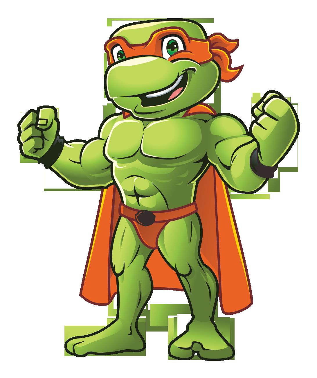 Unser Ninja Turtle benötigt ein neues Design! Die Welt gesünder & glücklicher machen!