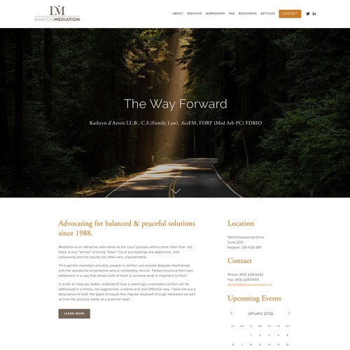 Family Mediation Lawyer Website