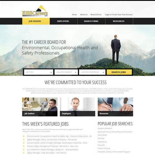 Job seekers website