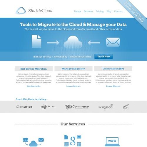 Cloud & Data Services Website