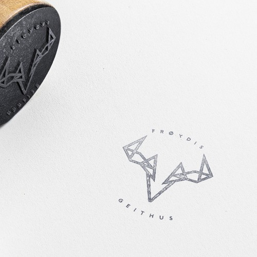 Minimal logomark for photography
