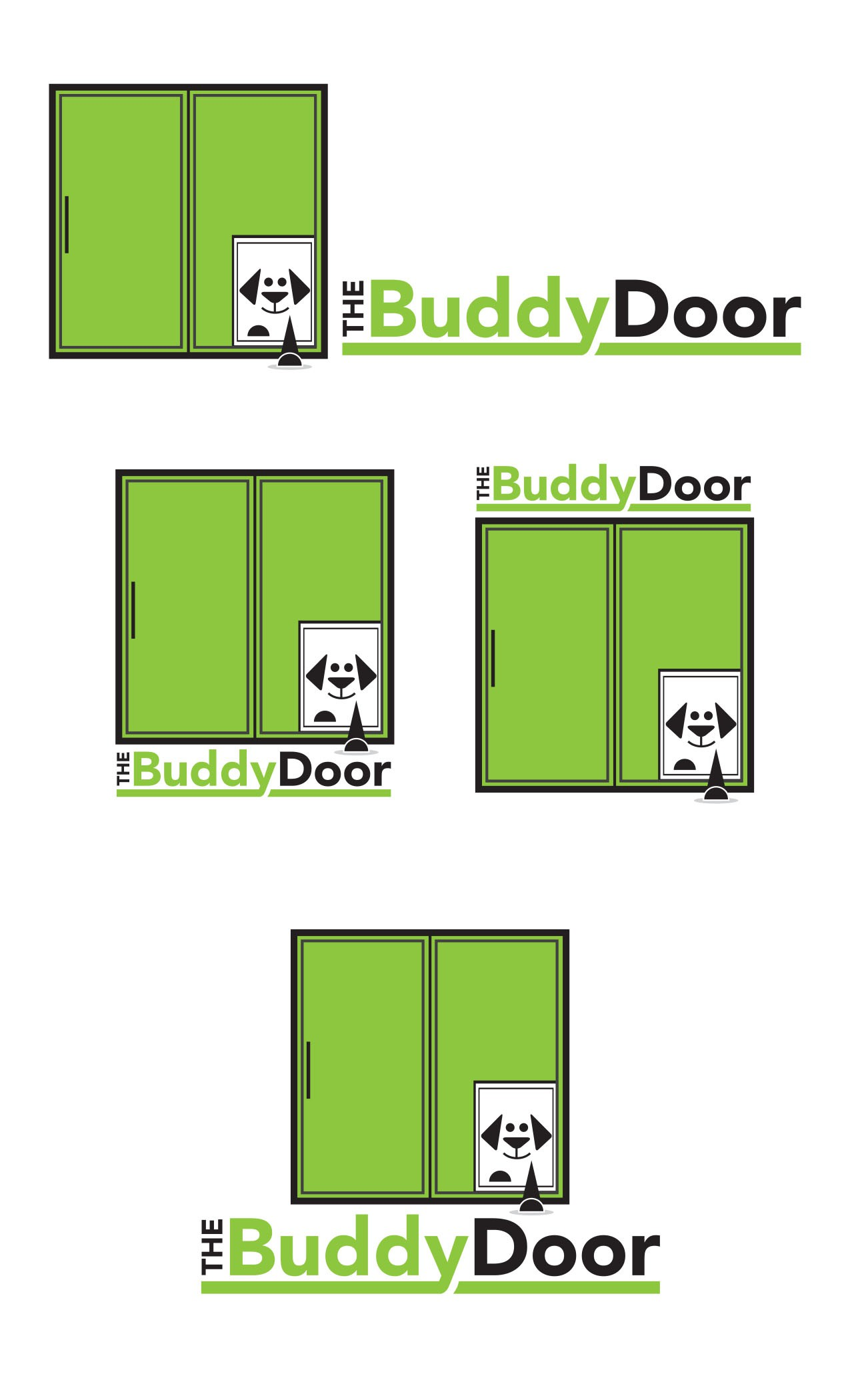 Help The BuddyDoor with a new logo