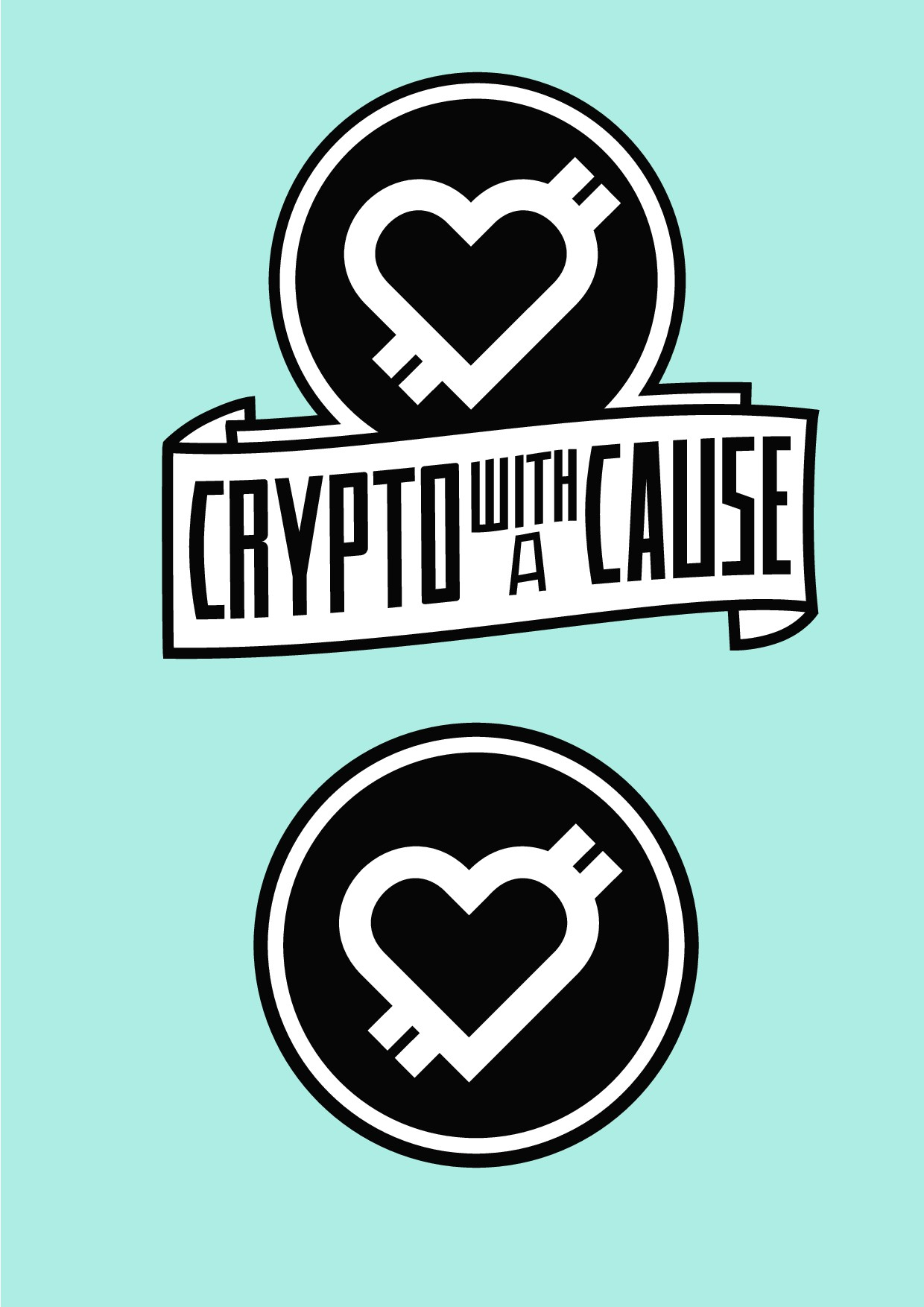 99nonprofits: Design a killer logo for  a crypto fundraising campaign for charity.