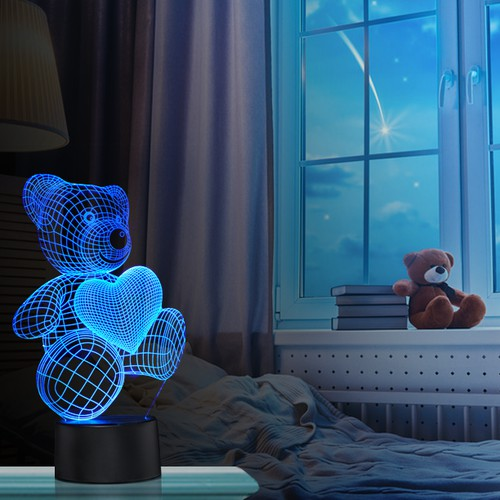 3D Night Lights