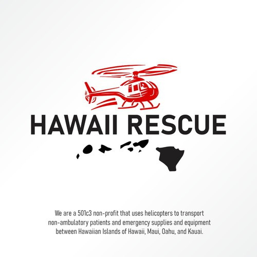 Logo concept for Hawaii Rescue