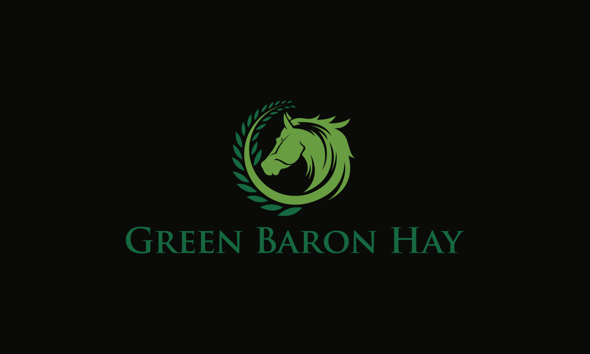 Business card design for a hay company