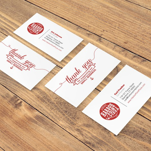 Modern Small Business Card