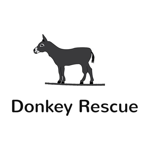 99nonprofits: Create a fun but endearing logo featuring donkey(s)